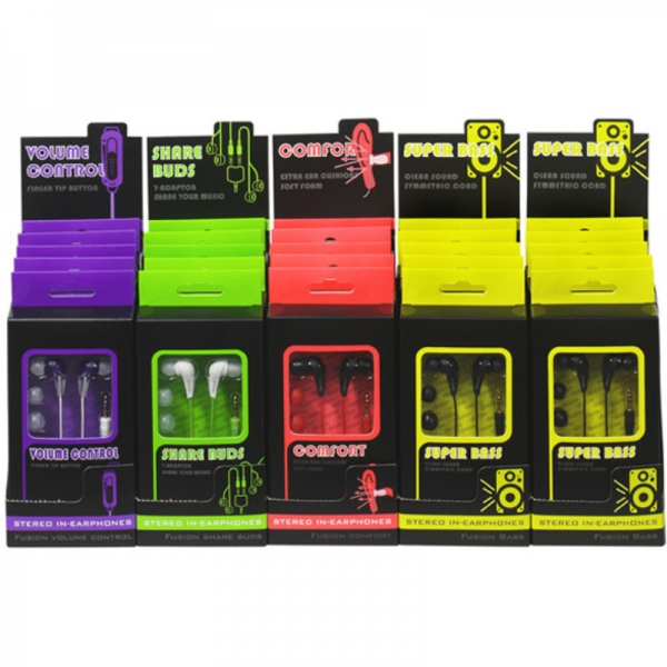 Audio mikrosluchátka Fusion...