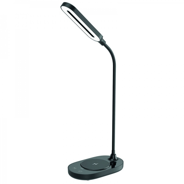 LED stolní lampička OCTAVIA černá