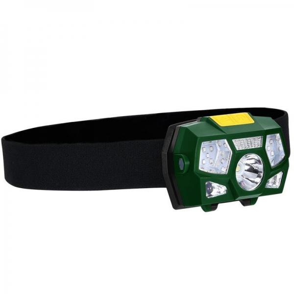 LED nabíjecí čelovka LH01R